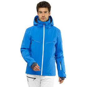 Salomon Brillant Jacket Men indigo bunting/wht